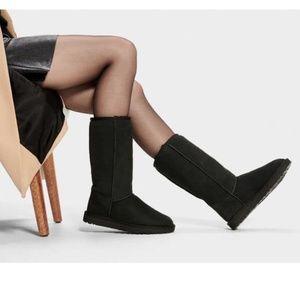 UGG Black Classic Tall II Boots Size 10